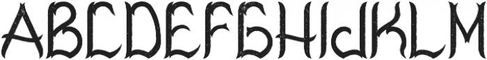 Virginia Aged otf (400) Font UPPERCASE