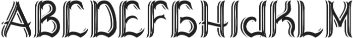 Virginia Shadow And Light otf (300) Font LOWERCASE