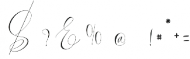 Virgita otf (400) Font OTHER CHARS