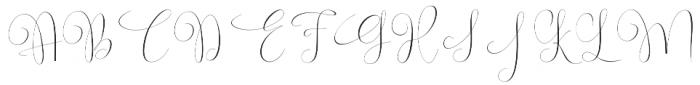 Virgita otf (400) Font UPPERCASE