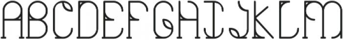 Viriditas ttf (400) Font UPPERCASE