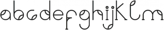 Viriditas ttf (400) Font LOWERCASE