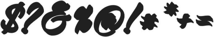 Virmana Extrude 1 otf (400) Font OTHER CHARS
