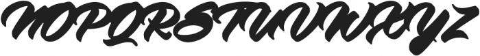 Virmana Extrude 1 otf (400) Font UPPERCASE