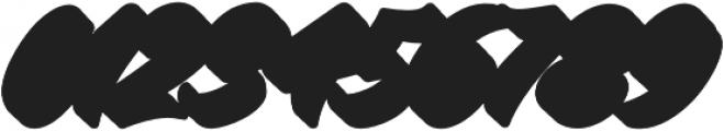 Virmana Extrude 2 otf (400) Font OTHER CHARS