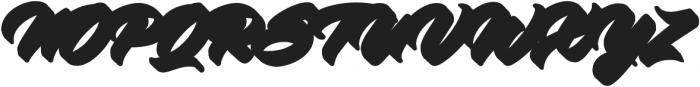 Virmana Extrude 2 otf (400) Font UPPERCASE
