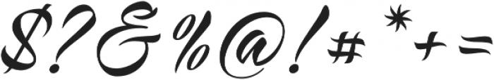 Virmana Script otf (400) Font OTHER CHARS