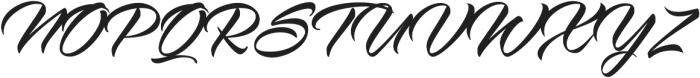 Virmana Script otf (400) Font UPPERCASE