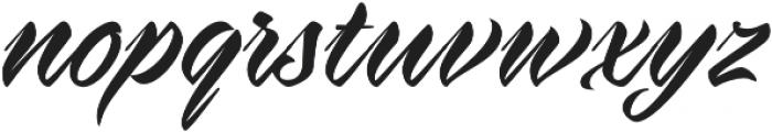 Virmana Script otf (400) Font LOWERCASE