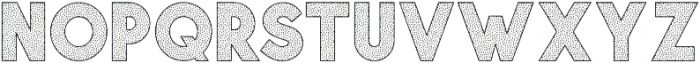 Visage Bold Polka Dot otf (700) Font LOWERCASE