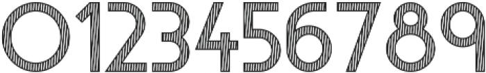 Visage Lines otf (400) Font OTHER CHARS