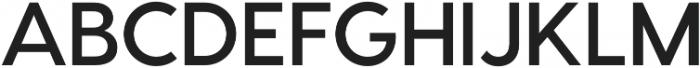 Visby CF Bold Oblique otf (700) Font UPPERCASE
