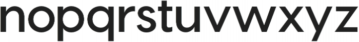 Visby CF Bold Oblique otf (700) Font LOWERCASE