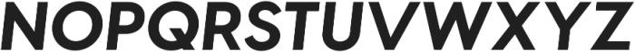 Visby CF Bold ttf (700) Font UPPERCASE