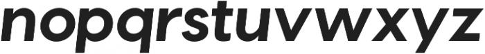 Visby CF Bold ttf (700) Font LOWERCASE