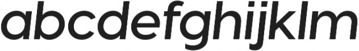Visby CF Demi Bold Oblique otf (600) Font LOWERCASE