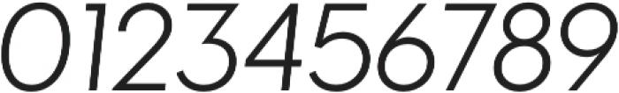 Visby CF Light Oblique otf (300) Font OTHER CHARS