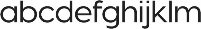 Visby CF Light Oblique ttf (300) Font LOWERCASE