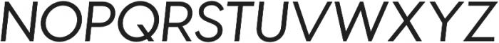Visby CF Thin otf (100) Font UPPERCASE