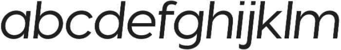 Visby CF Thin otf (100) Font LOWERCASE