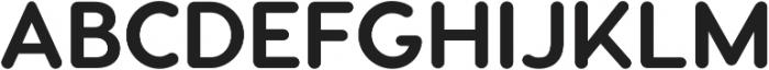 Visby Round CF Bold ttf (700) Font UPPERCASE