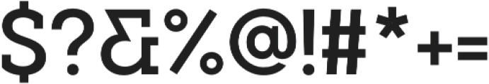 Visby Slab CF Demi Bold otf (600) Font OTHER CHARS