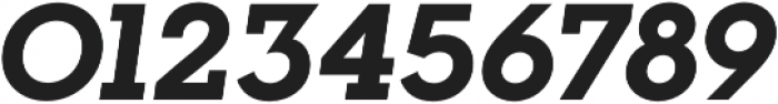 Visby Slab CF Extra Bold Oblique otf (700) Font OTHER CHARS