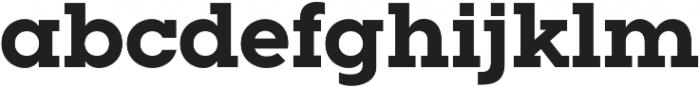 Visby Slab CF Extra Bold otf (700) Font LOWERCASE