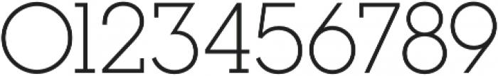 Visby Slab CF Light otf (300) Font OTHER CHARS