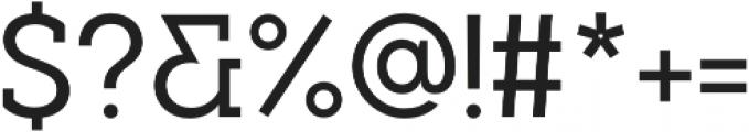 Visby Slab CF Medium otf (500) Font OTHER CHARS