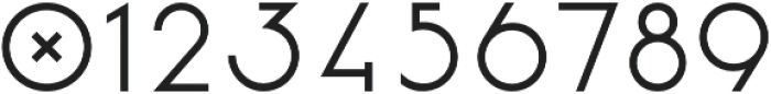 Vision otf (700) Font OTHER CHARS