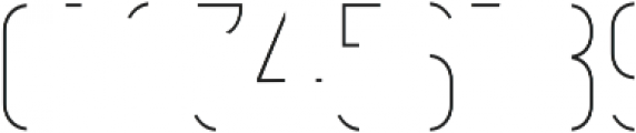 Vitacura Line otf (400) Font OTHER CHARS
