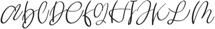 virginia otf (400) Font UPPERCASE