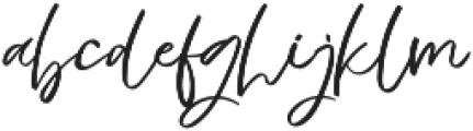 virginia otf (400) Font LOWERCASE