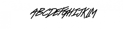 Victory Alternates ExtraBold.ttf Font UPPERCASE