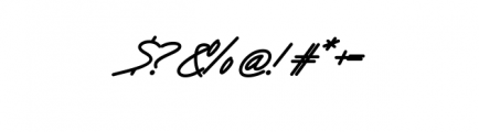 Victory ExtraBold.ttf Font OTHER CHARS