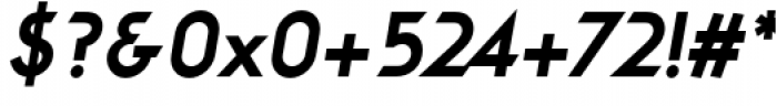 Viata Extra Bold Oblique Font OTHER CHARS