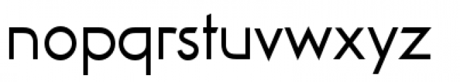 Viata Regular Font LOWERCASE