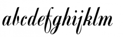 Viceroy Font LOWERCASE