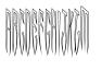 Viper Monogram Font UPPERCASE
