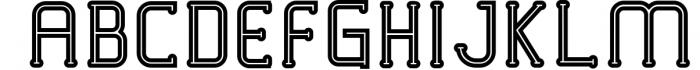 VICTORISA 3 Font UPPERCASE