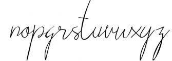 VICTORISA 4 Font LOWERCASE