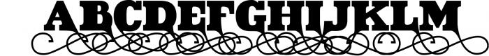 VIDIZ PRO Typeface 2 Font UPPERCASE