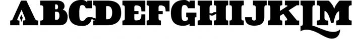 VIDIZ PRO Typeface 7 Font UPPERCASE