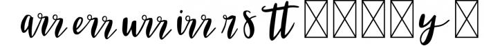 VIVIENE BOLD BRUSH Script .OTF Font 1 Font LOWERCASE