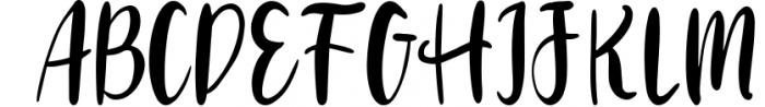 VIVIENE BOLD BRUSH Script .OTF Font Font UPPERCASE