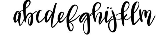 VIVIENE BOLD BRUSH Script .OTF Font Font LOWERCASE