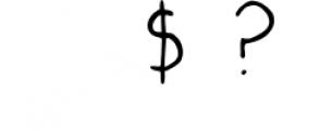 Victoria Script Font OTHER CHARS