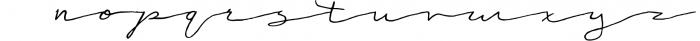 Victoria Script Font LOWERCASE