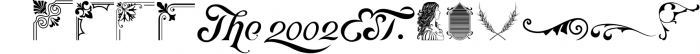 Victorian Fonts Collection 10 Font UPPERCASE
